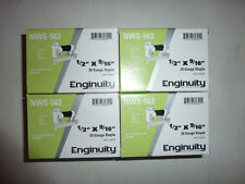 """enginuity by paslode 1/2"""" crown X 9/16""""  20 Guage Galvanized Staples box 10000"""