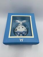 Wedgwood Jasperware 12 Days of Christmas Pierced Ornament FRENCH HENS Box RARE