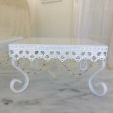 Small White Square Cupcake Wedding Decoraton Cake Christmas Display Stand New