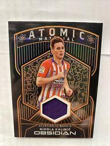 Panini Obsidian Soccer Nikola Kalinic 36/50 Orange Etch Atomic Patch Card
