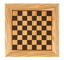 "Manopoulos Olive wood & Wenge handcrafted chess board in Greece - 1.33"" Squares"