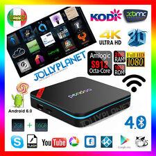 PENDOO X9 OCTA CORE 2GHz BOX ANDROID 6.0 16GB 2GB S912 64BIT WIFI IPTV 4K KODI