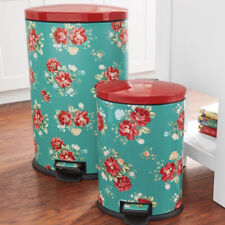 New listing Pioneer Woman 10.5 Gal And 3.1 Gal Trash Cans.*Local Pickup Only*