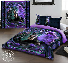 Anne Stokes Naiad King Size Bed Duvet Cover Set Goth Rock Fairy Tale Fantasy