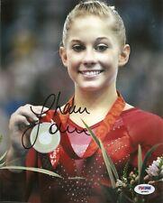 Shawn Johnson Gymnastic Olympic Signed Auto 8x10 PHOTO PSA/DNA COA