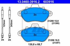 Bremsbelagsatz, Scheibenbremse für Bremsanlage Vorderachse ATE 13.0460-3916.2