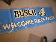NEW!! NASCAR BUDWEISER BUSCH BEER BUDWIESER RACING KEVIN HARVICK #4 BANNER
