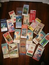 Lot of 21 VINTAGE HIGHWAY MAPS 1940'S - 1970'S All States & Mexico