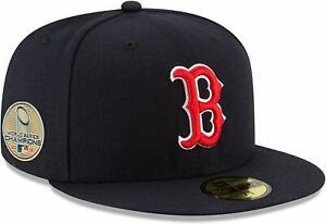 Boston Red Sox New Era 59FIFTY 2018 MLB World Series Champions Cap Hat - Size: 7