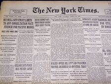 1930 MARCH 29 NEW YORK TIMES - IRISH CABINET OUT - NT 3895
