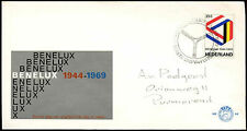 Netherlands 1969 Benelux Customs Union FDC First Day Cover #C27385