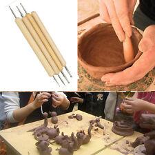 Stylish 4pcsBall Stylus Polymer Clay Pottery Ceramics Sculpting Modeling Tools