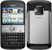 original Nokia E5 Black 3G WIFI GPRS QWERTY Keyboard Unlocked free shipping