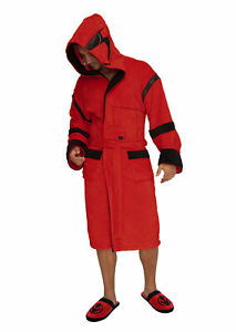 Star Wars Sith Trooper Hoodled Bathrobe (Dressing Gown) Unisex One Size Fits All