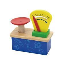 Wooden Weighing Balance Scale - Pretend Children Play Kitchen Game