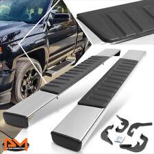 """For 07-19 Silverado/Sierra Regular Cab 6""""Side Step Nerf Bar Running Board Chrome"""