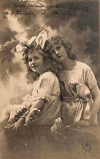 CARTE POSTALE FANTAISIE MLLE MADELEINE ROUSSELLE MOUSSY-LE-NEUF 1923