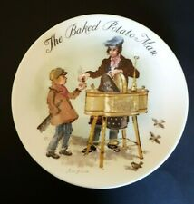 """Wedgwood Plate """"The Baked Potato Man"""" from """"The Street Sellers Of London"""" series"""