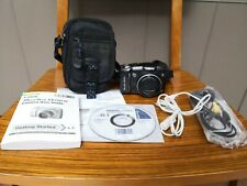 Canon PowerShot SX110 IS 9.0MP Digital Camera - Black w/ Case , cables & manual
