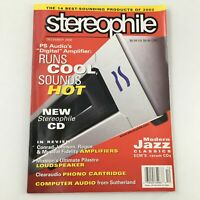 Stereophile Magazine December 2002 Clearaudio Phono Cartridge Feature, Newsstand
