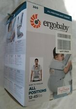 Ergobaby 360 All-Position Baby Carrier (12-45 Pounds), Pearl Grey