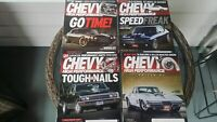 Chevy High Performance magazine May Jun Jul Aug 2018 lot of 4 magazine