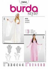 Burda Sewing Pattern 2484 Princess Renaissance Costume Pattern Size 10-20