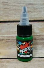 Moms Millennium Ectoplasmic Green Color 1/2 oz Bottle Tattoo Ink USA