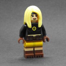 Custom - teen titans Terra - DC Super heroes minifigures on lego bricks