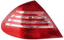 Back Rear Tail Lights For Mercedes W211 02-06 In Red-Clear LED - No E-Mark