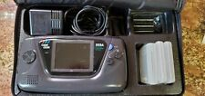 Sega Game Gear Console Lot With Games, Case And Battery Pack - / Parts/Restore/