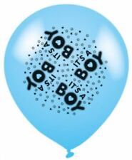 8 X I'ts A Boy Blue Balloon Suitable For Baby Shower Or Birth.