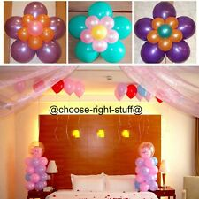 """100 X 10"""" PEARLISED HELIUM QUALITY LATEX BALLOONS MOTHERS DAY Anniversary"""