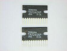 "TA7240AP  ""Original"" Toshiba  12P SIP IC  2  pcs"