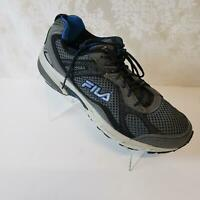 Fila Mens Windshift 15 Running Shoes Sz 11.5 Lace Up Mesh Gray