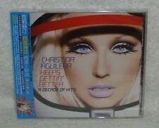 Christina Aguilera Keeps Gettin' Better Taiwan CD w/OBI