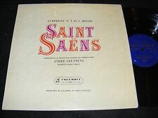 Columbia Made In England LP SAINT SAENS Symphony no 3 ANDRE CLUYTENS Roget Organ