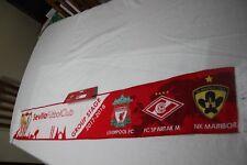 Bufanda GRUPO CHAMPIONS LEAGUE SEVILLA F.C.,LIVERPOOOL,SPARTAK MOSKVA NK MARIBOR