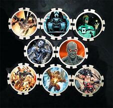 Custom Darkseid War Action Tokens (x8) - DC - Heroclix