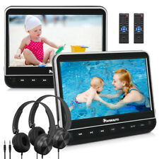 "NAVISKAUTO 2*10.1"" Auto Fernseher Kopfstütze DVD Player Kinder 1080P HDMI USB SD"