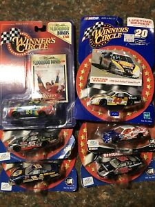 Lot Of 6 NASCAR WINNERS CIRCLE/ACTION 1:64 Diecast New In Package Awesome Paint