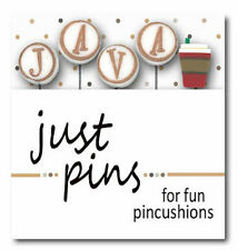 10% Off Just Another Button Company - J is for Java Pins - jp199