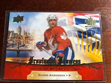 Team Canada  2018-- UD...GLENN ANDERSON  PP-14..PROVINCIAL PROWESS