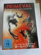 Primeval - Rückkehr der Urzeitmonster- Staffel 1 - 3 - BOXSET DVD NEU