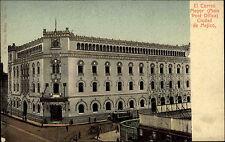 Ciudad Mexiko México AK ~1900 El Correo Mayor Main Post Office Postgebäude Post