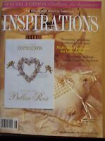Inspirations Magazine No. 16 / 1997 comes complete with Insert Patterns