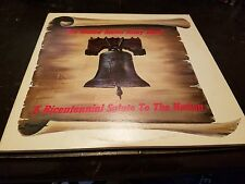 US ARMY BAND A Bicentennial Salute To The Nation Vinyl Record LP - Colored Vinyl