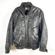 Men's Vintage AVIATRIX Leather Pilot / Bomber / Aviator / Biker Jacket | L |