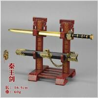 1:6 Scale Weapon Model The Kings of Qin Sabre Sword Model  Fit 12'' Male Figure