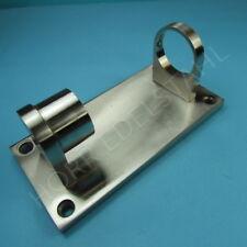 Edelstahl Pfostenhalter Rohrhalter 180x90 E406 für 42,4mm Edelstahlrohr